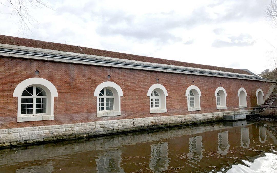 """Sanierung Sportbad """"Denkmalgeschütztes Batteriegebäude, Ingolstadt"""